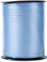 500 meter krullint 5mm lichtblauw