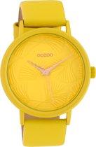 OOZOO Timepieces Geel horloge  (42 mm) - Geel
