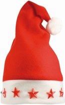 Benza Kerstmuts met lampje, verlichting Rood (200 stuks)