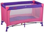 Campingbed Baninni Nido Basic Pink-Purple (incl. klamboe)