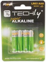 Techly LR03 AAA 1.5V Single-use battery Alkaline 1,5 V