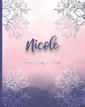 Nicole, Planner Weekly / Monthly