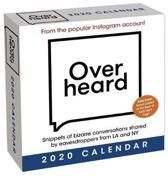 Overheard 2020 Day-to-Day Calendar