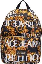 Versace Jeans Couture Heren Rugzak - Zwart / Goud