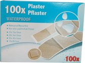 100 Waterproof pleisters