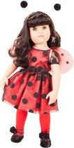 Götz Pop Götz Girls 45-50 cm Hannah Ladybug