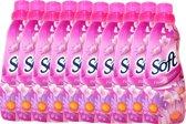 At home soft flower passion wasverzachter - 10 x 750 ml - voordeelverpakking