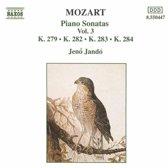 Mozart: Piano Sonatas Vol 3 / Jeno Jando