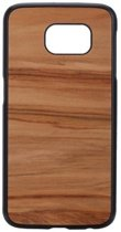 Man&Wood Samsung Galaxy S6 Back Case Wood Cappuccino Black#
