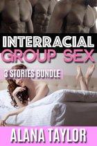 Interracial Group Sex - 3 Stories Bundle