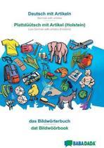 Babadada, Deutsch Mit Artikeln - Plattd tsch Mit Artikel (Holstein), Das Bildw rterbuch - DAT Bildw rbook