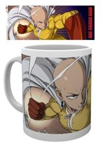One Punch Man - Face Mug - Brown