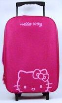 Hello Kitty trolley - Roze-Paars - 48x33x13cm