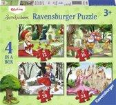 Ravensburger Efteling 4in1box puzzel - 12+16+20+24 stukjes - kinderpuzzel