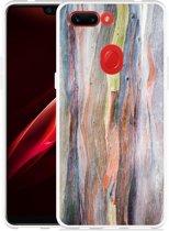 Oppo R15 Pro Hoesje Wood Art II