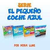Serie El Pequeño Coche Azul Coleccion de Cuatro Libros