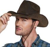Cowboyhoed Utah Leather Look