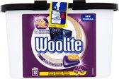 Woolite Zwart, Donker & Denim Capsules - Wasmiddel -18 Capsules