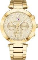 Tommy Hilfiger TH1781878 horloge dames - goud - edelstaal doubl�