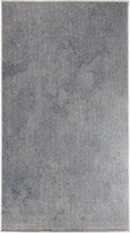 In- & Outdoor Dubbelzijdig Karpet - 80X150 cm - Blauw/Ivoorkleur