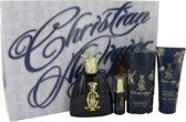Christian Audigier Gift Set 100 ml Eau De Toilette Spray + 7.5 ml MIN EDT + 90 ml Body Wash + 75 ml Deodorant Stick