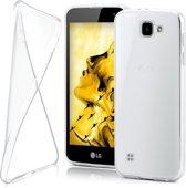 LG K4 Ultra Dunne 0,3 mm  Siliconen hoesje case,cover - Transparant/Doorzichtig