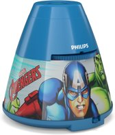 Philips Avengers - Tafellamp - 1 Lichtpunt - blauw - 1 x 1,25lm