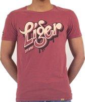 LIGER - Limited Edition van 360 stuks - Horror - letter -T-Shirt - Maat S