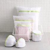 Waszakken - Waszakken set - 6 stuks waszak set - Packing cubes - Travel Organizer - Wasnet - BH waszakje - Waszakken groot - Waszakken voor in de wasmachine - Gratis Verzending
