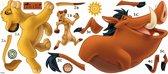 RoomMates Disney The Lion King - Muurstickers - Multi