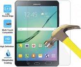 Samsung Tab S2 9.7 - Tempered Glass / Glazen Screen protector - Screenprotector Transparant 2.5D 9H Gehard Glas