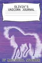 Olivia's Unicorn Journal