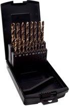 4Tecx Metaalborenset 19Dlg 1-10mm Cobalt