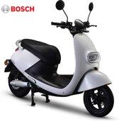 IVA E-GO S3 Elektrische Scooter Wit 25 km/h