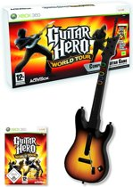 Guitar Hero: World Tour - Xbox 360 Gitaar Bundel