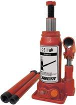 Carpoint Potkrik 3000kg hydraulisch met hefhoogte 195-380mm - rood