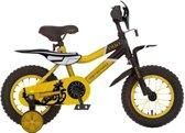 Troy Motorcross - Fiets - Jongens - Geel - 12 Inch