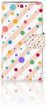 Samsung Galaxy J5 (2015) Boekhoesje Design Dots