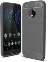 Rugged TPU Motorola Moto G5 Plus Case - Grijs