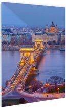FotoCadeau.nl - Boedapest Oost-Europa Glas 40x60 cm - Foto print op Glas (Plexiglas wanddecoratie)
