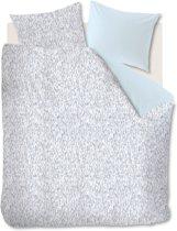 Ambiante Folke - Dekbedovertrek - Eenpersoons - 140x200/220 cm - Blauw