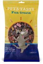 Pets Taste Micro Bones - Hondensnacks - Kip Rund Lam 140 g