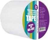Dubbelzijdig Helder Zelfklevend tape 100 mm x 15 meter