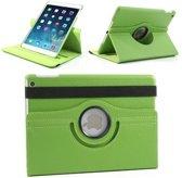iPad Mini 1, 2, 3 - 360 Graden draaibare Hoes - Lederen - Groen