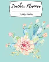 Teacher Planner; 2019-2020: Weekly and Monthly Teacher Planner - Academic Year Lesson Plan and Record Book