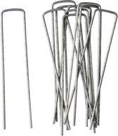 20x Gronddoekpennen/onkruiddoekpennen 14 cm - Anti-worteldoeken/onkruiddoeken/gronddoeken vastzettend/bevestigen