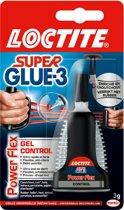 Loctite Secondelijm Flex Gel - Druipt niet door gel structuur - Antidruip dop - Zeer Krachtig - sekondelijm - Secondenlijm