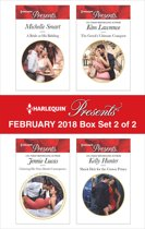 Harlequin Presents February 2018 - Box Set 2 of 2