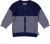 Snoozebaby Jongens Vest - blauw - Maat 50