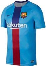 Nike FC Barcelona Trainingsshirt - Voetbalshirts  - blauw - S